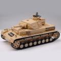 RC Tank 1/16 DAK Pz.Kpfw.IV Ausf.F-1 - 3858-1 kouř. a zvuk. efekty, 2,4 GHz, střílí kuličky