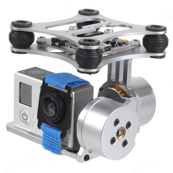 Držák kamery dvouosý, FPV 2-Axis Brushless Camera Gimbal / Phantom Gopro