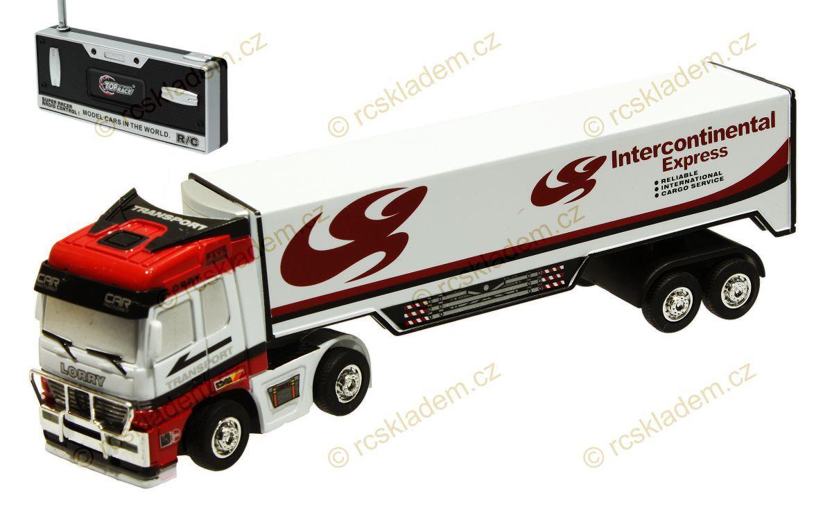 Mini RC kamion 1:98, bílá RCskladem