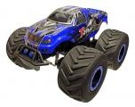 BIG WHEELS 2,4GHz - modrý monster