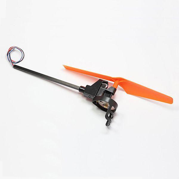 Rameno kompletní s vrtulí oranžová X1 pro Dron Patriot s kamerou (A) RCskladem