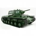 RC Tank 1/16 Russia KV-1S Ehkranami 3878-1 50cm s kouř. efektem, střílí kuličky