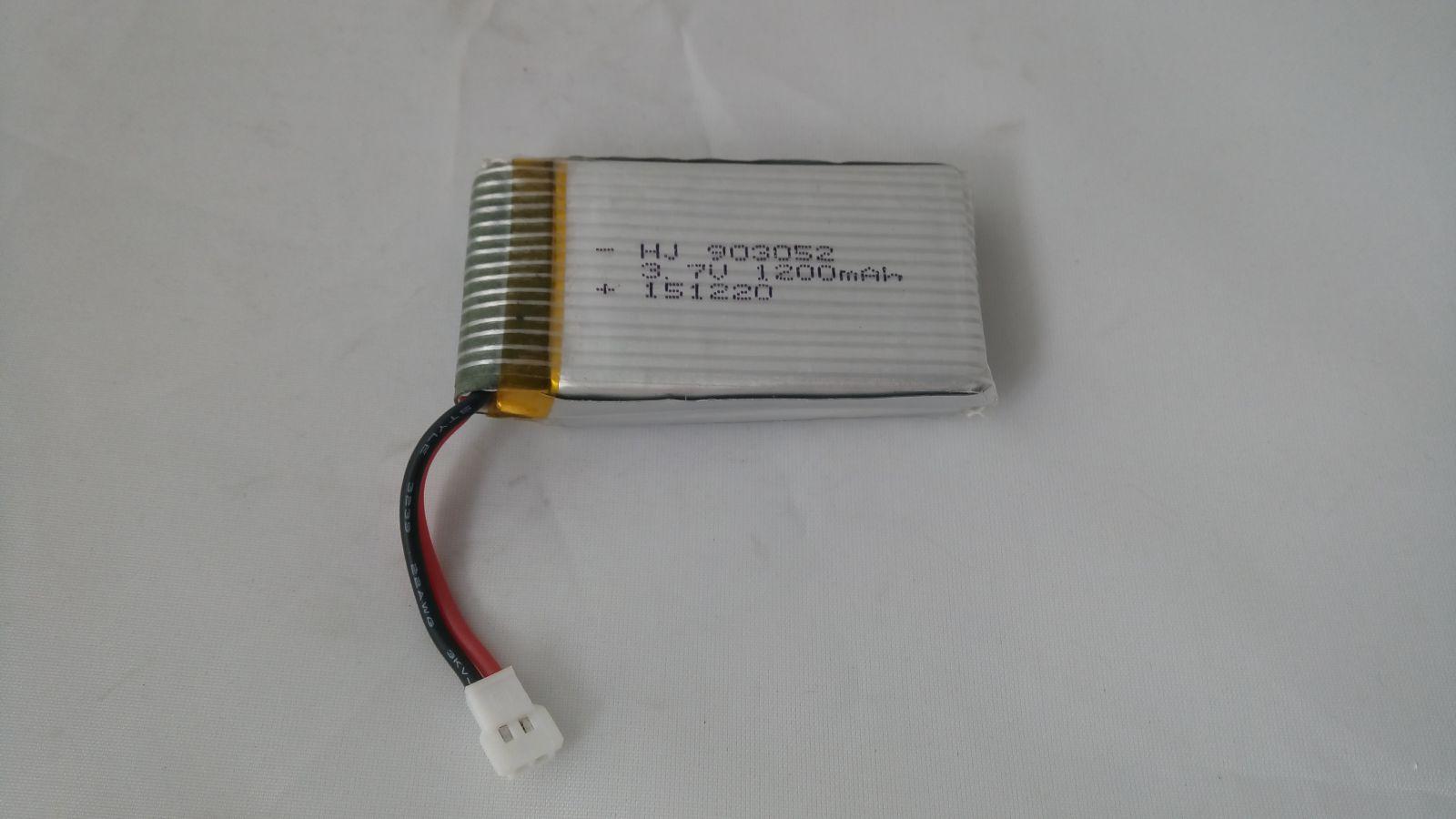 Baterie Li-Pol 1200mAh 3.7V