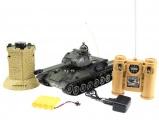 Bojující tank T34 s obrannou věží