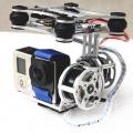 Gyroskopický super lehký držák kamery pro natáčení bez chvění záběrů