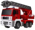 Originál hasiči s majákem a vysouvacím žebříkem