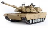 RC Tank s kouřem a zvuky 69cm M1A2 ABRAMS, střílí kuličky