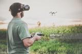 Stunt Dron s živým HD přenosem obrazu do VR brýlí !!