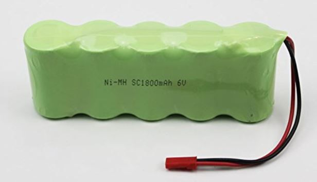 Baterie 6V 1800mAh