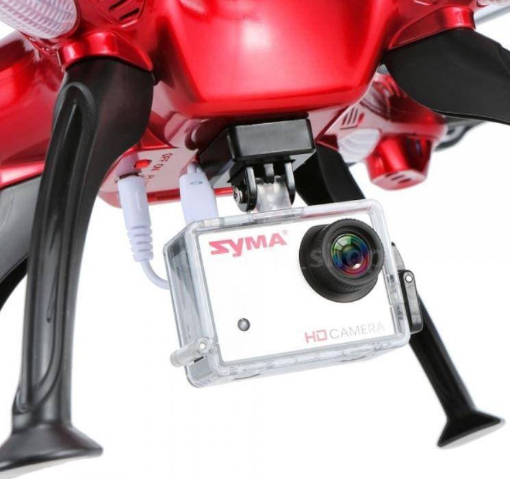 FULL-HD kamera pro RC modely SYMA X8