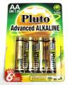 Alkalické baterie Pluto 1.5V AA (4ks)