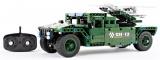 RC stavebnice Mechanical Master Raketový truck s pohyblivým odpalovačem 2.4G